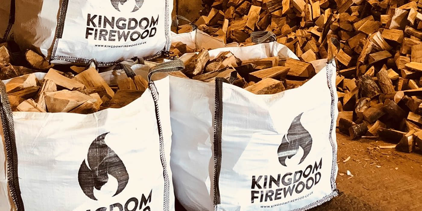 Premium Kiln Dried Hardwood, average moisture content of 15%.
