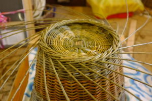 We also sell Bespoke handmade wicker log baskets.