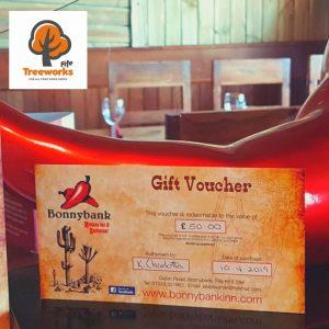 Treeworks Fife Meal Voucher Giveaway!