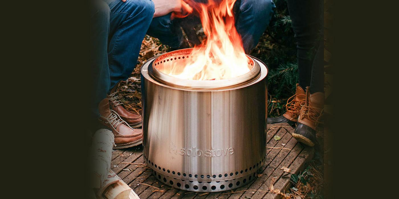 New in Stock! Solo Stove bonfire